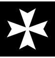 Cross of the knights hospitaller vector