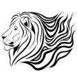 Lion tattoo vector
