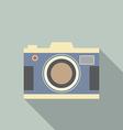 Modern design vintage camera vector