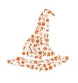 Halloween hat vector