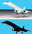 Concorde plane vector