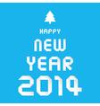 Happy new year 2014 card30 vector