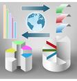 Infographics element vector