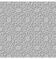 Seamless arab stone arabesque background vector