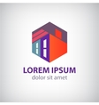 House abstract building construction icon vector
