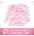 Pink pencil sketch background pattern vector