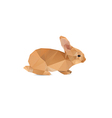 Rabbit abstract vector
