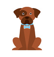 Dog design vector