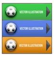 Dropdown sport menu vector