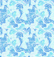 Seamless pattern of waves vector