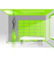 Green room vector