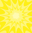 Yellow explosion background vector