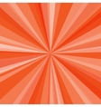 Orange rays background for your bright beams vector