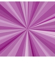 Purple rays background for your bright beams vector