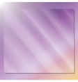 Transparent glass on a color background vector