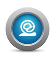 Snail - email button vector