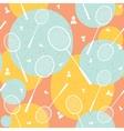 Badminton vintage seamless pattern vector