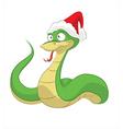 Happy new snake vector