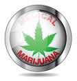Medical marijuana vector