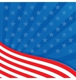 Background in colors of the american flag vector
