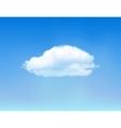 Cloud on blue sky vector