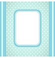 Squared label on artistic background vector
