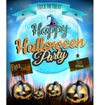 Happy halloween party eps 10 vector