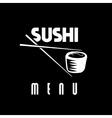 Suchi menu vector