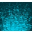 Abstract banner with triangle shapes vector