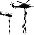 Helicopter landing vector