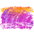 Purple and orange abstract background vector
