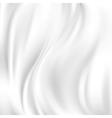Abstract texture white silk vector