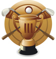 Bronze award vector