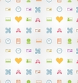 Colored background for e-shopping vector