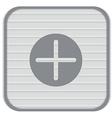 Plus sign icon positive symbol vector