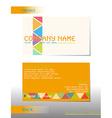 A business card vector