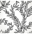 Seamless hand drawn pattern vector