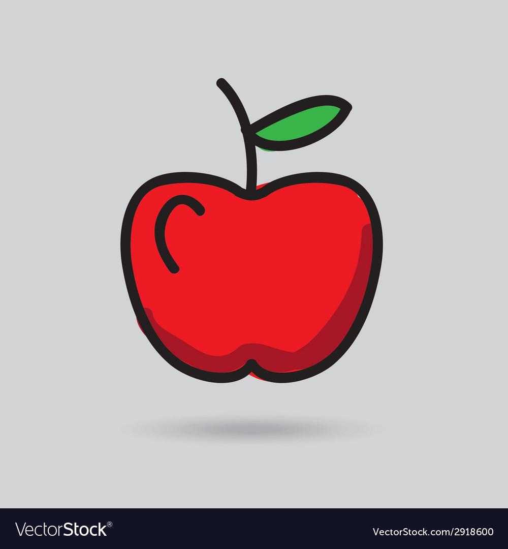 Apple vector   Price: 1 Credit (USD $1)