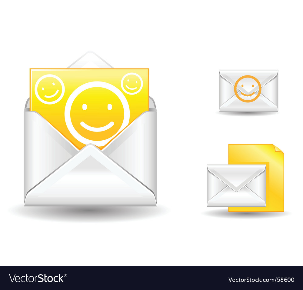 Letter smile vector | Price: 1 Credit (USD $1)