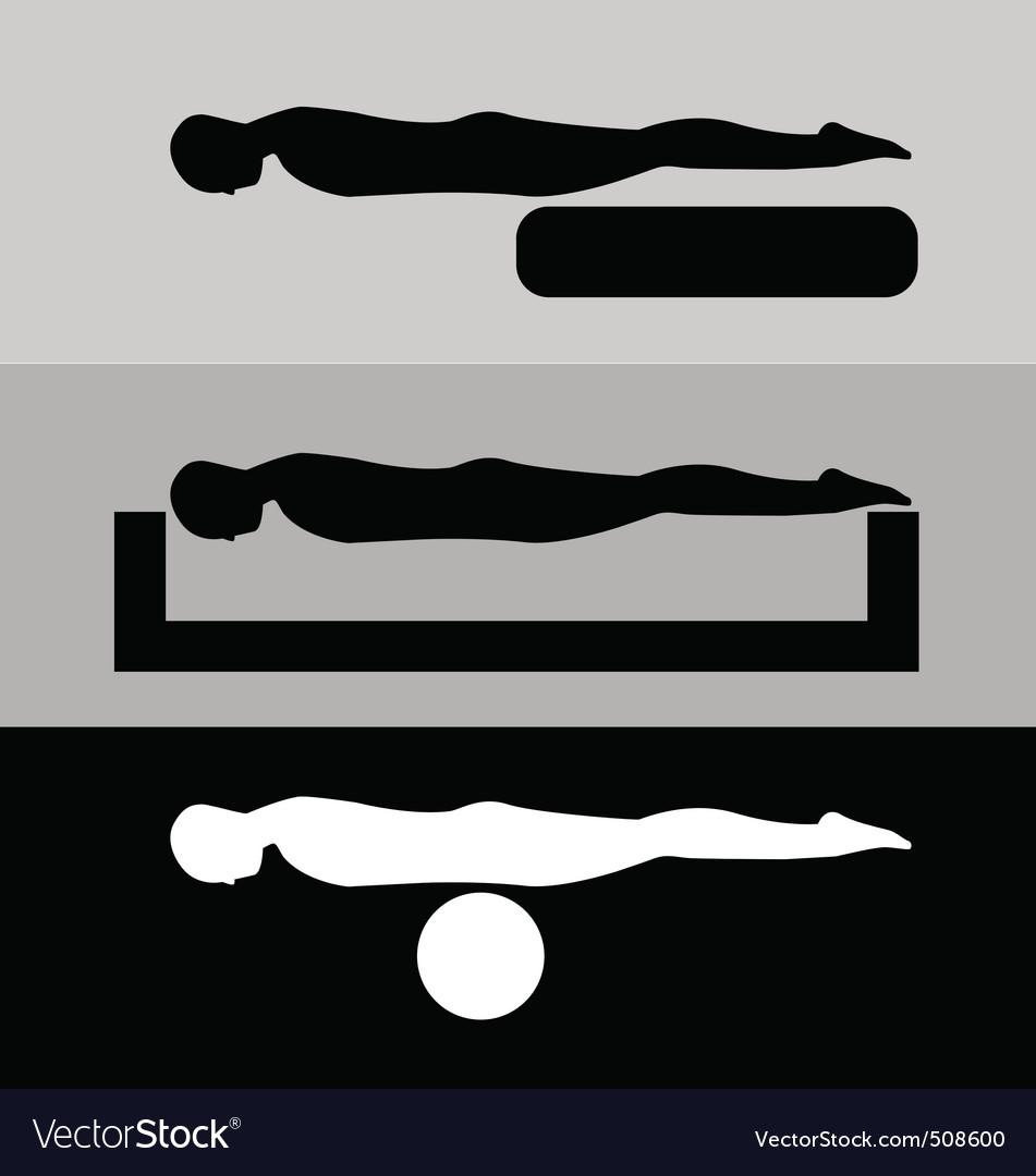 Planking vector | Price: 1 Credit (USD $1)