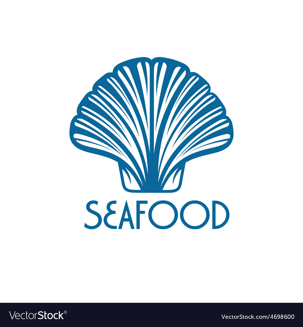 Seafood with shell vector | Price: 1 Credit (USD $1)