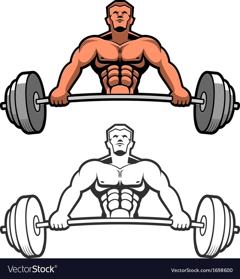 Weightlifter vector   Price: 1 Credit (USD $1)