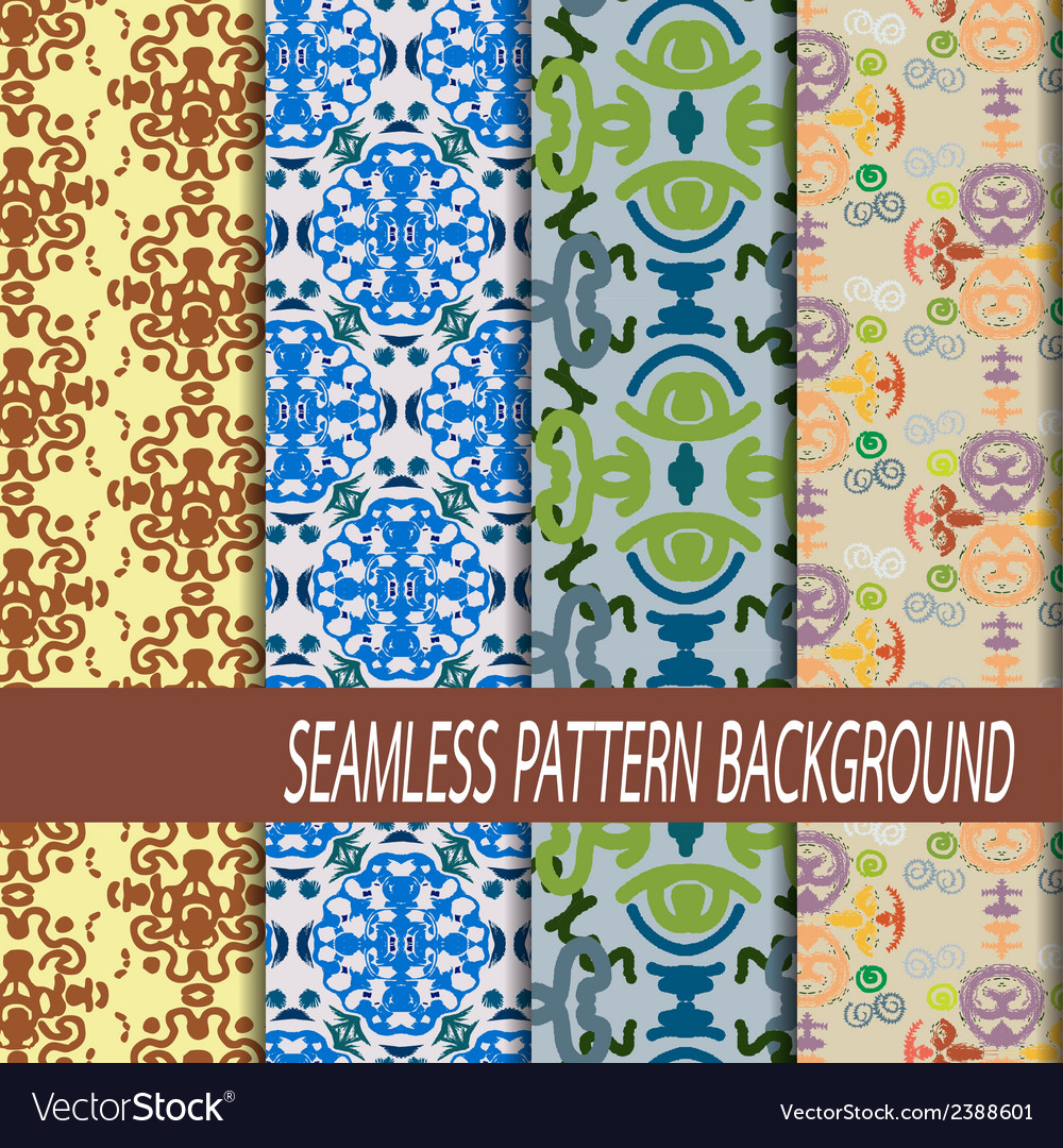 Abstract seamless pattern background vector | Price: 1 Credit (USD $1)