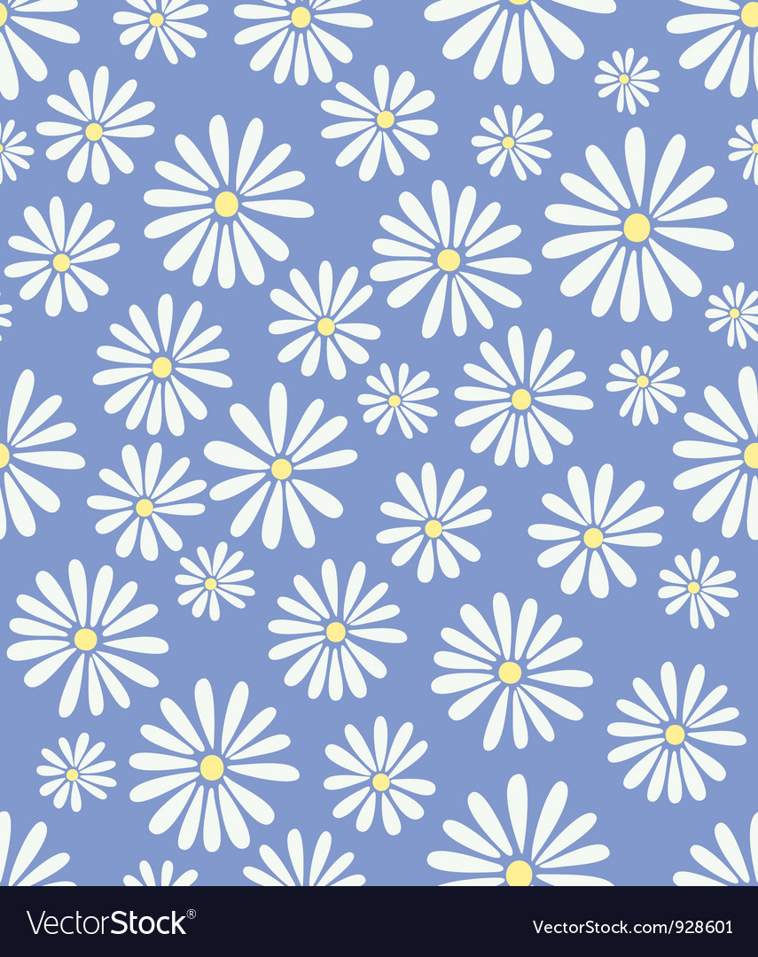 Doris day flower on lavender vector | Price: 1 Credit (USD $1)