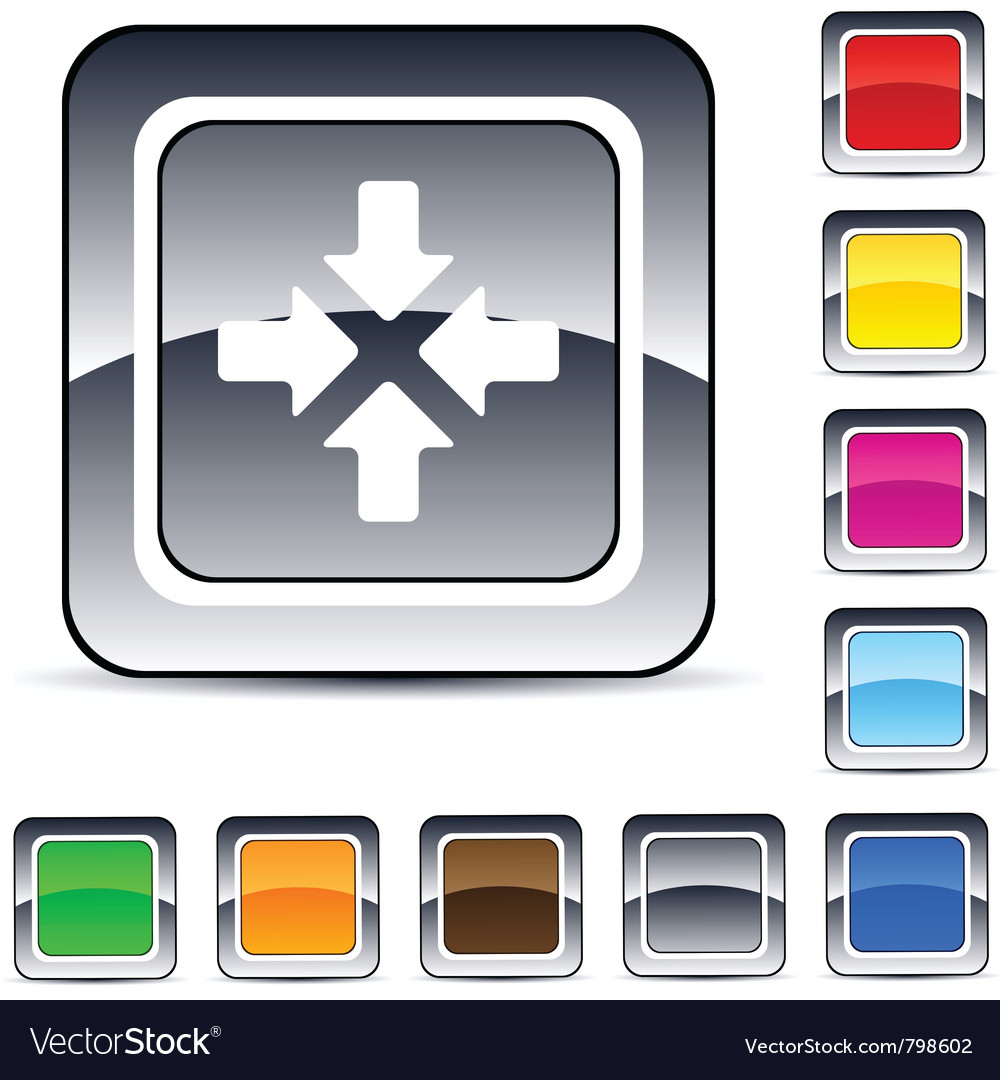 Click here square button vector | Price: 1 Credit (USD $1)
