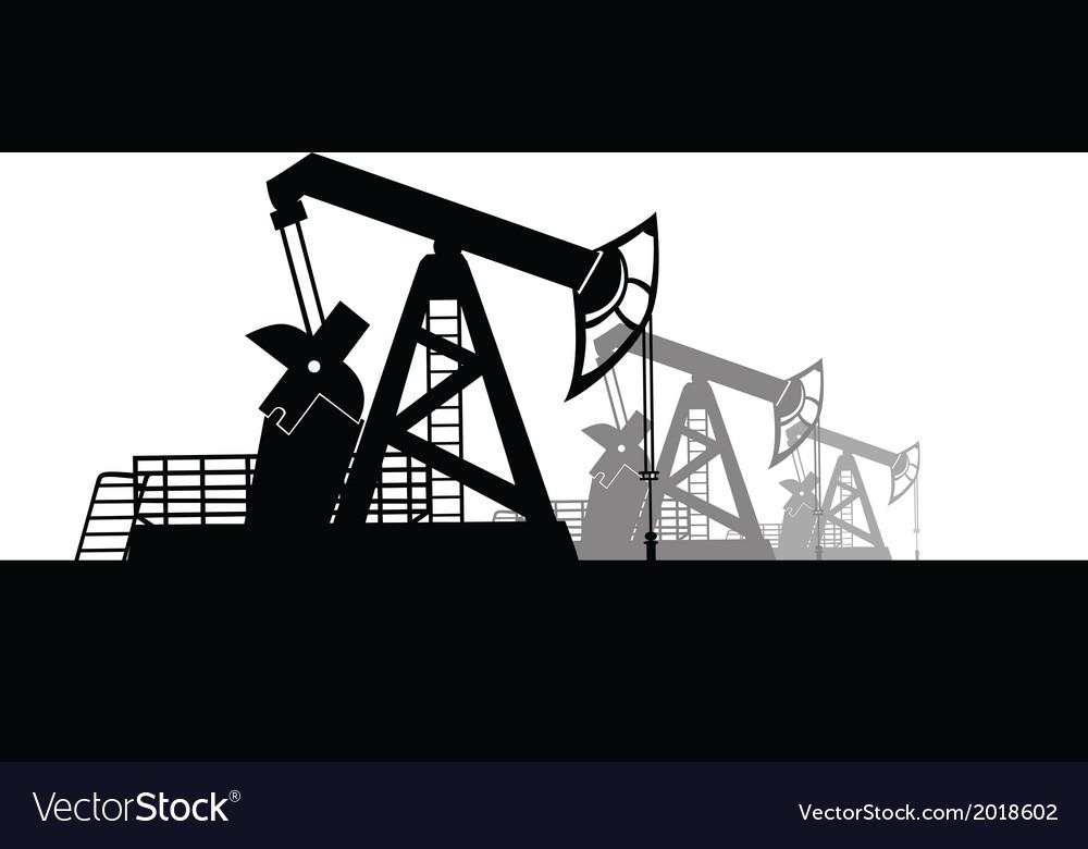 Oil derrick vector | Price: 1 Credit (USD $1)