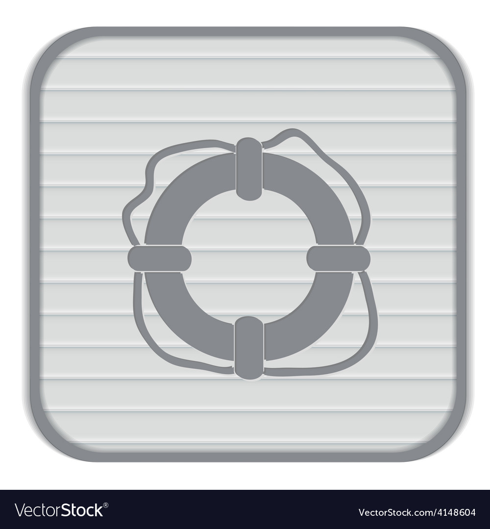 Lifebuoy icon vector | Price: 1 Credit (USD $1)