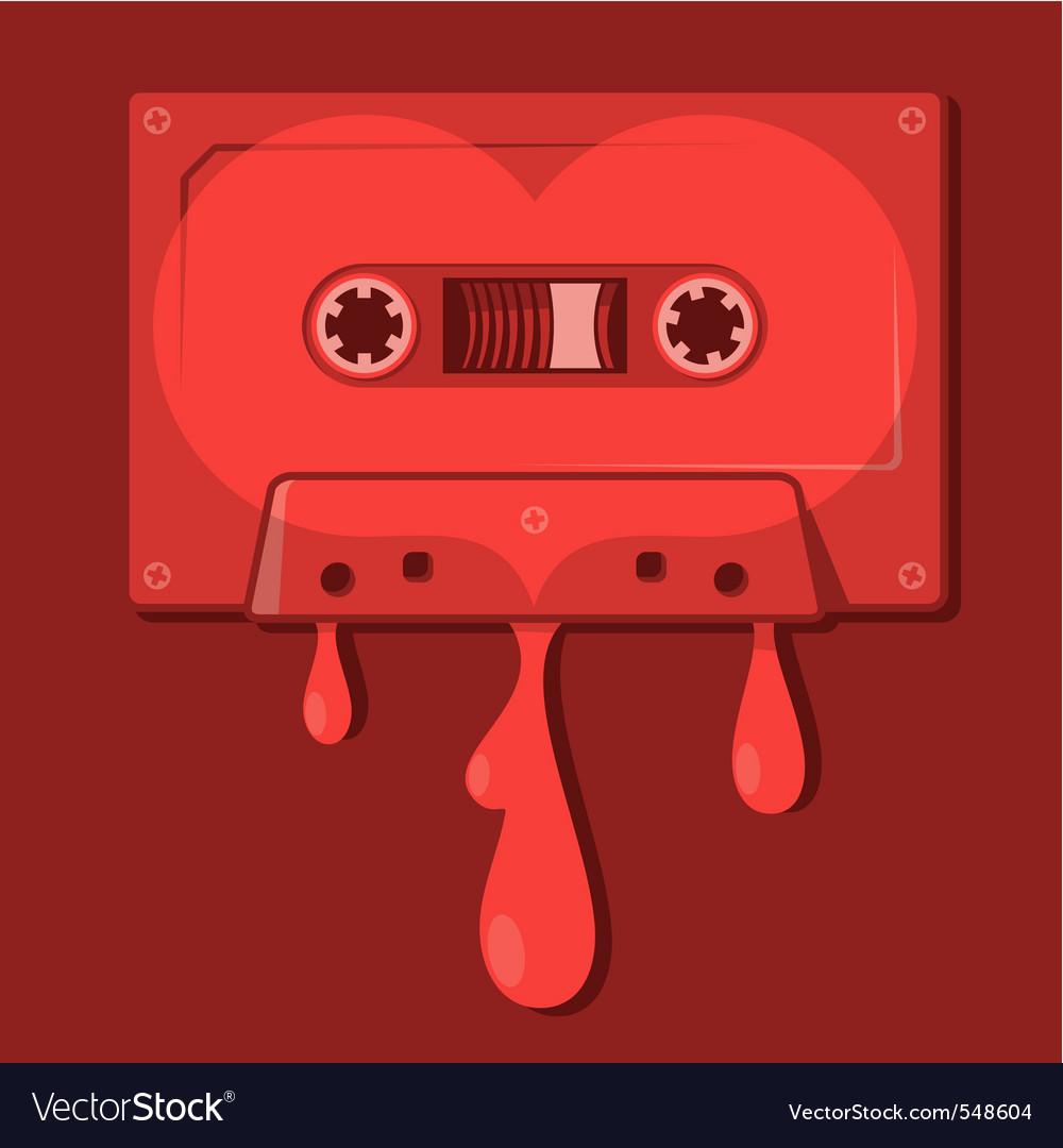Love songs vector