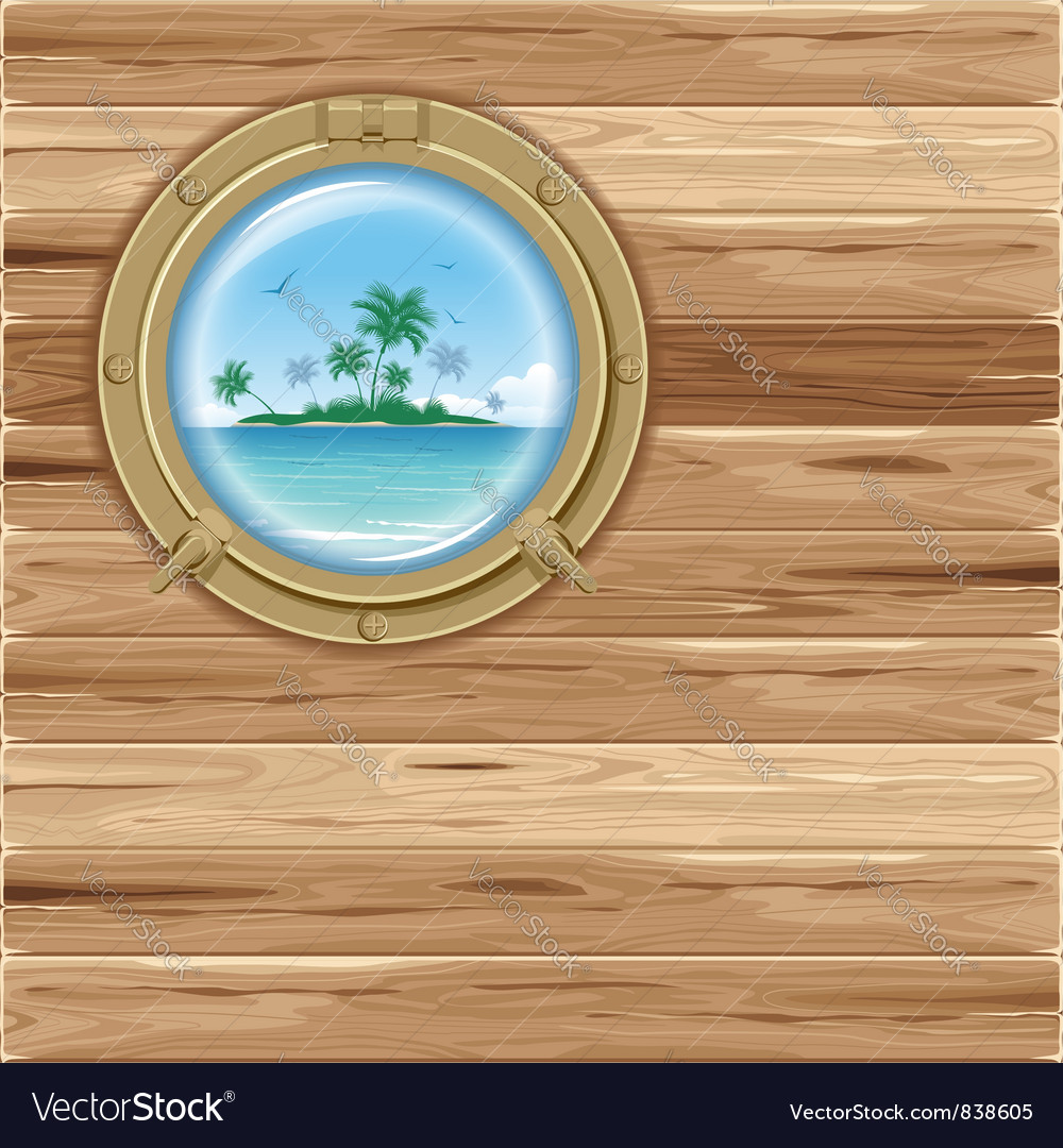 Boat porthole vector | Price: 3 Credit (USD $3)