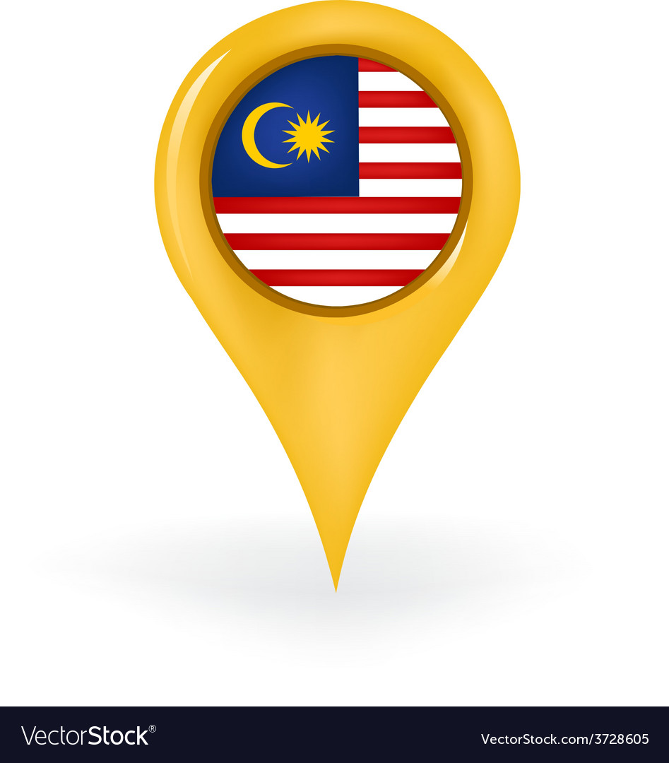 Location malaysia vector | Price: 1 Credit (USD $1)